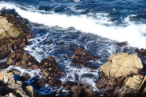 Incoming wave, Cannery Point, Point Lobos | by aenigmatēs