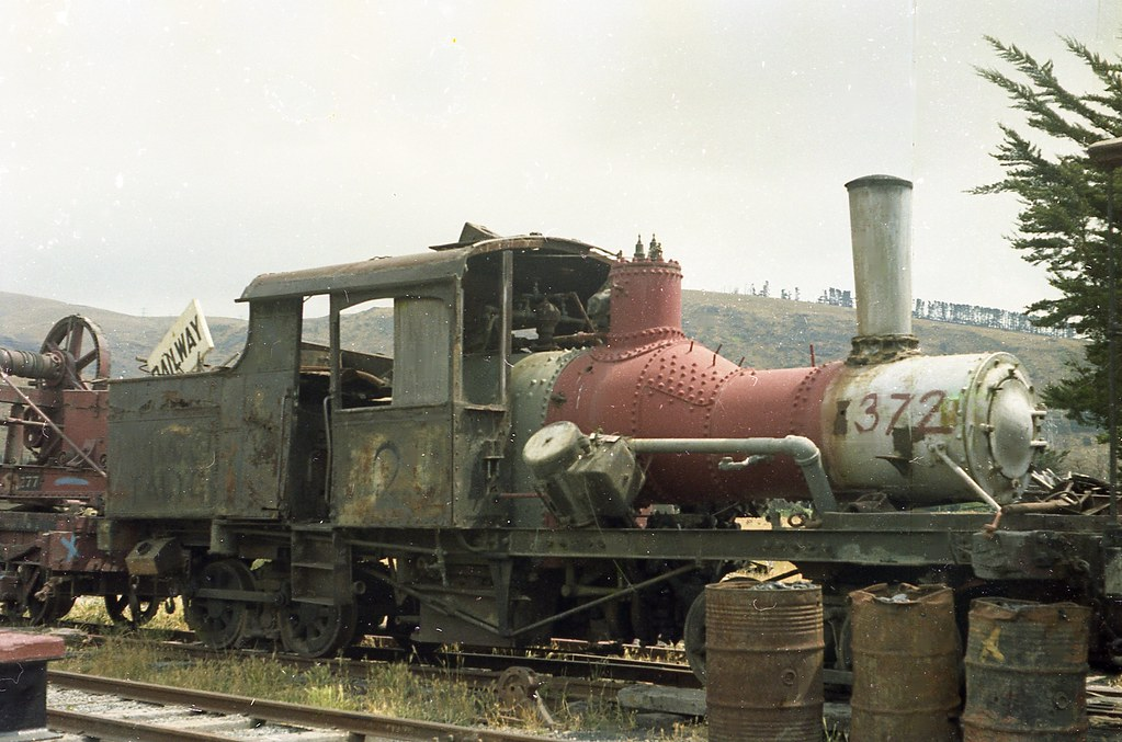 Heisler 1450 at Ferrymead 1972