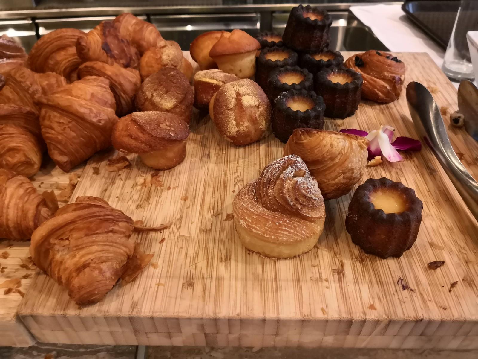 Croissants and caneles