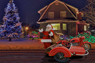 Santa's New Ride - 1966 BMW R69S with Sidecar (In Explore)