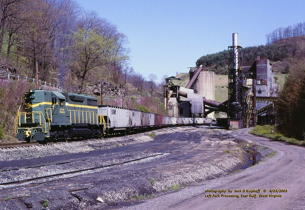 (SEE & HEAR)---Left Fork Processing, SD35, WV. 4-23-2003