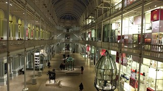 National Museum of Scotland at Night 01   by byronv2
