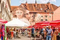 Dolac Market. Zagreb.