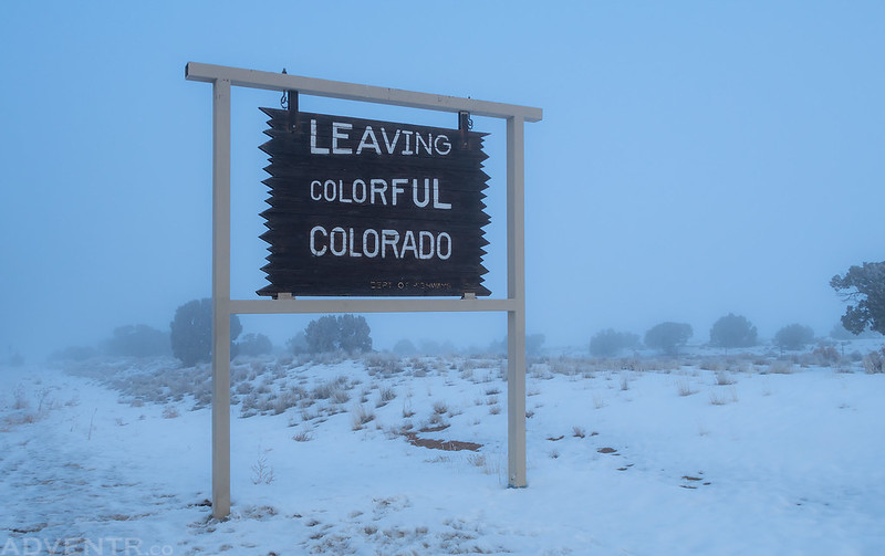 Leaving Foggy Colorado