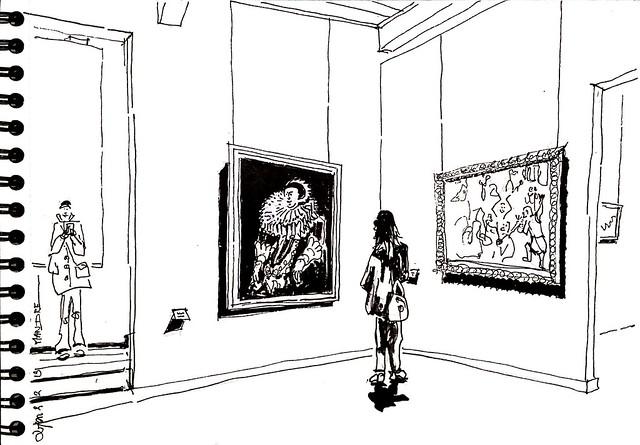 Flandre,  17e s. Au musée Saint-Pierre à  Lyon
