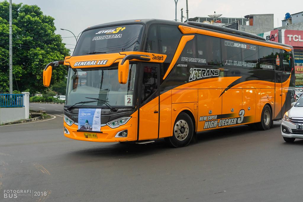 27 Trans Hino Rk8 Adi Putro Jetbus 3 Shd Margonda Depok