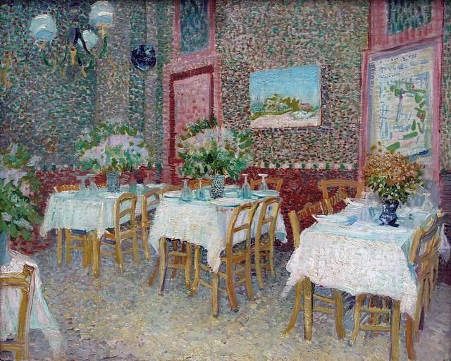 1887 Van Gogh Interior of a restaurant(Kröller-Müller Museum)ultra HD