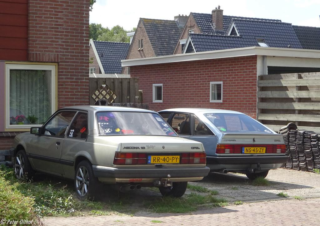 1987 Opel Ascona 1.6N & 1985 Opel Ascona C2 1.6S Hatchback