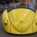 VW seating in the Children's Area. State Librarian Beverly Cain, Julia Ward, and Bill Morris traveled to Northwest Ohio in August 2018 to meet former State Library Board Member, John Myles, for a tour of four public libraries and the Museum of Fulton County.