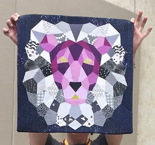 Jen's Violet Craft pp lion