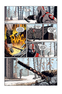God of War prequel comic: Page 3 | by PlayStation.Blog