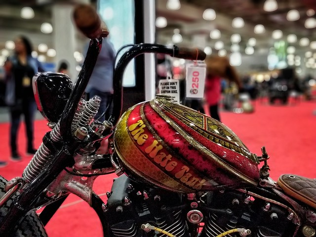 The Hate Tank. Customized Motorcycles