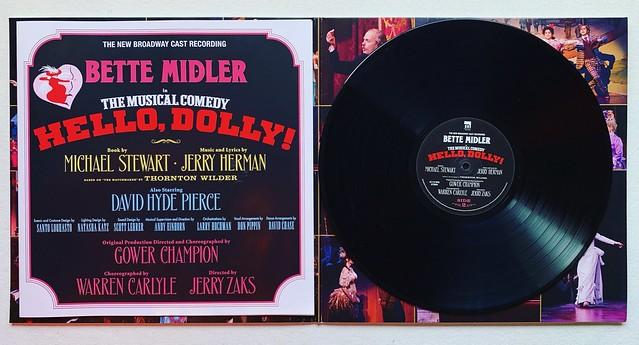 Bette Midler (2017) Hello Dolly LP