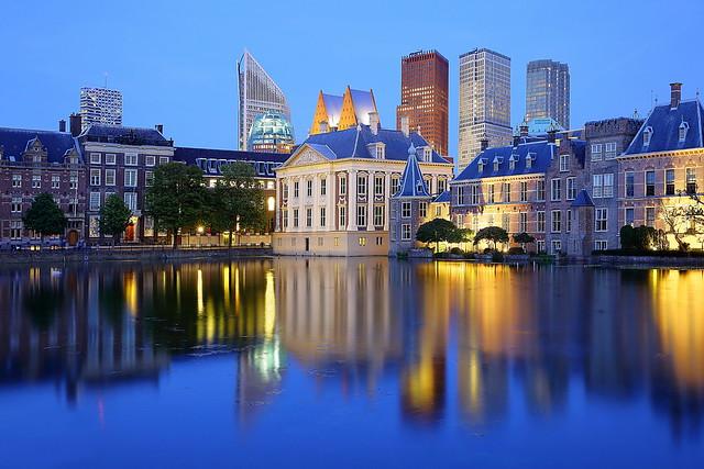 Den Haag in Blau