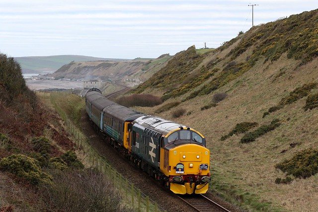 37409 and 37425 2Z37 'The Cumbrian Coast Class 37 Farewell Special'