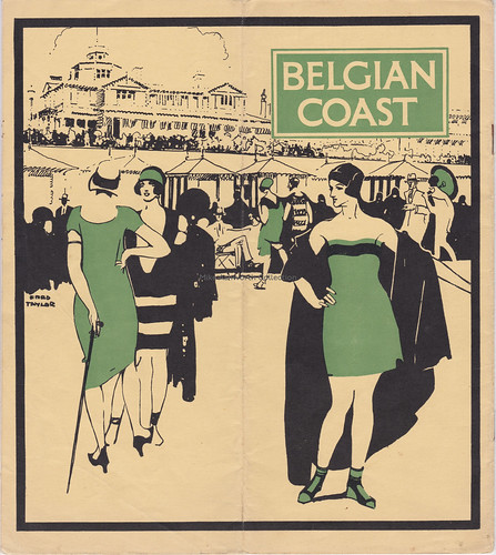 London & North Eastern Railway - Belgian Coast for the Holidays, 1928; design by Fred Taylor | by mikeyashworth