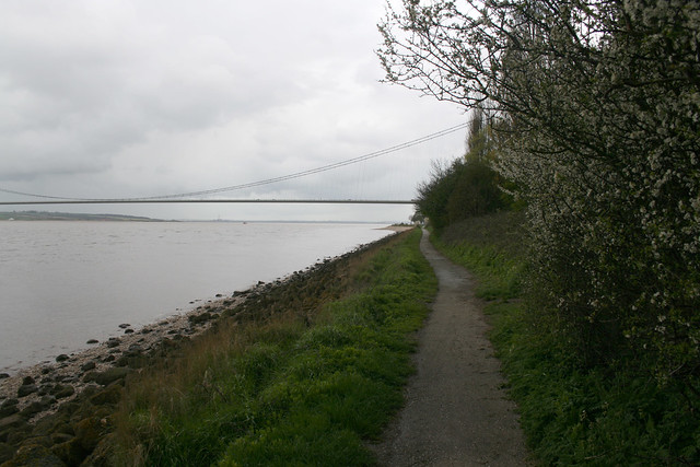 The Humber at Hessle