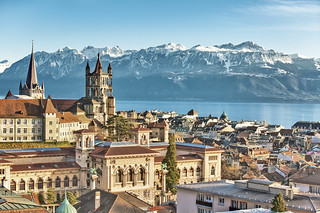 Lausanne, Genfersee | by MySwitzerland.com