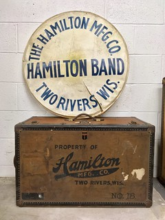 HAMILTON BAND / THE HAMILTON MFG. CO. / TWO RIVERS, WIS.