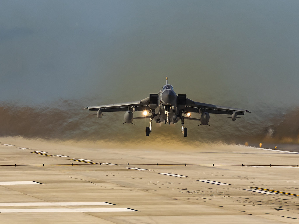 Royal Air Force | Panavia Tornado GR4 | ZA554