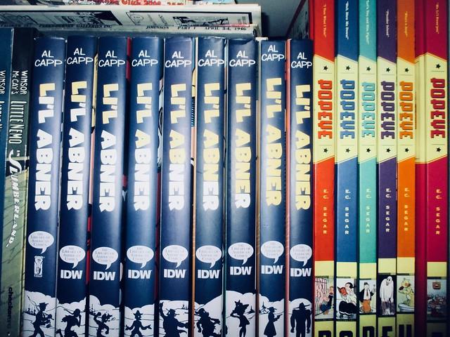 Newspaper Comics Strip Book Shelf - IDW Publishing 9056