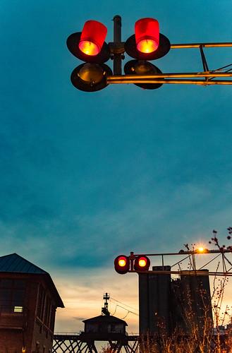 Railroad Ligts at Trestle Park | by VBuckley.com