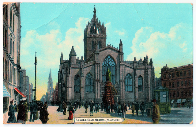 Edinburgh - St. Giles' Cathedral Prior to 1908