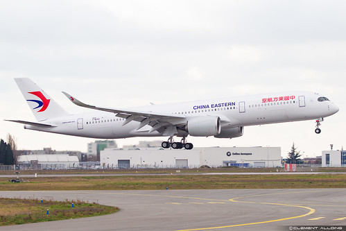 China Eastern Airlines Airbus A350-941 cn 269 F-WZNS // B-305X | by Clément Alloing - CAphotography