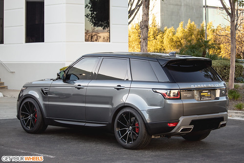 Land Rover Range Rover Sport - Vertini RF1.2 Gloss Black Tinted Face