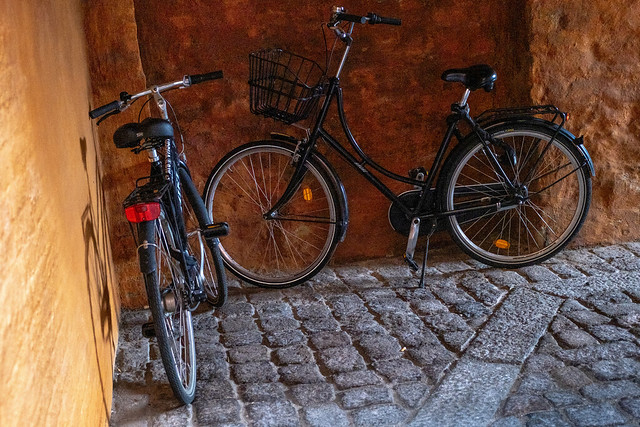 Corner with bikes