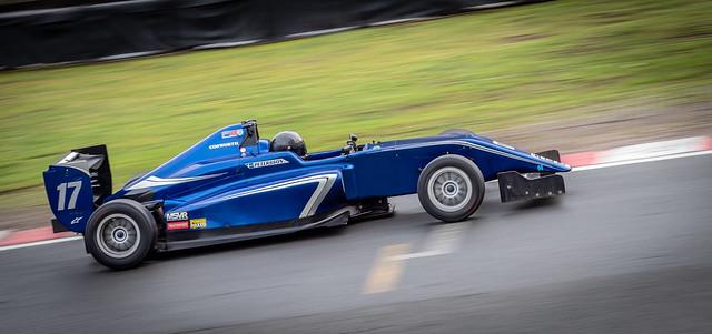Open-wheel race car