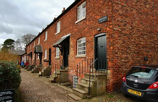 Mill workers cottages in Styal Village | by Eddie Crutchley