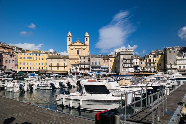 Alte Hafen in Bastia