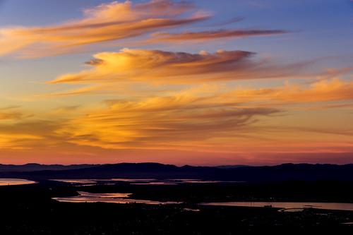 mtdiablo clouds bayarea sunset california usa