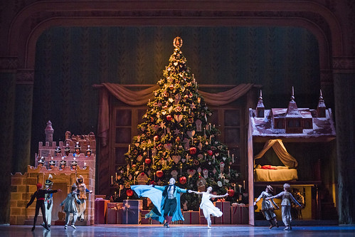 Production photo of The Nutcracker, The Royal Ballet