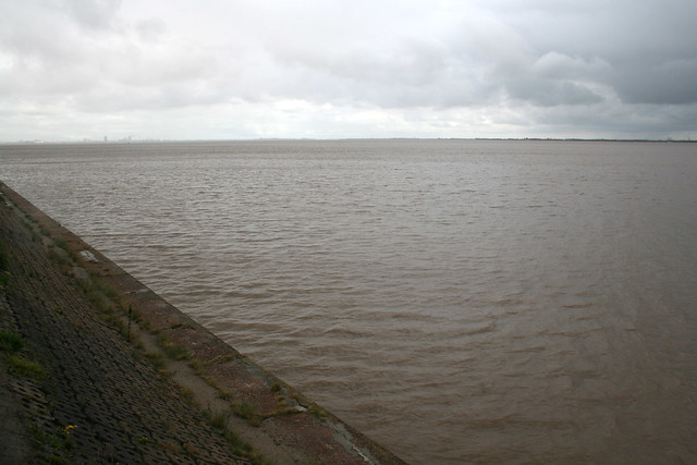 The Humber estuary near Hull