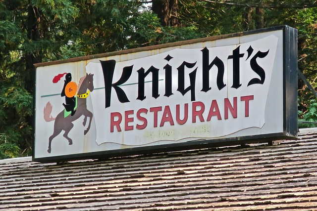 Knight's Restaurant, Myers Flat, CA
