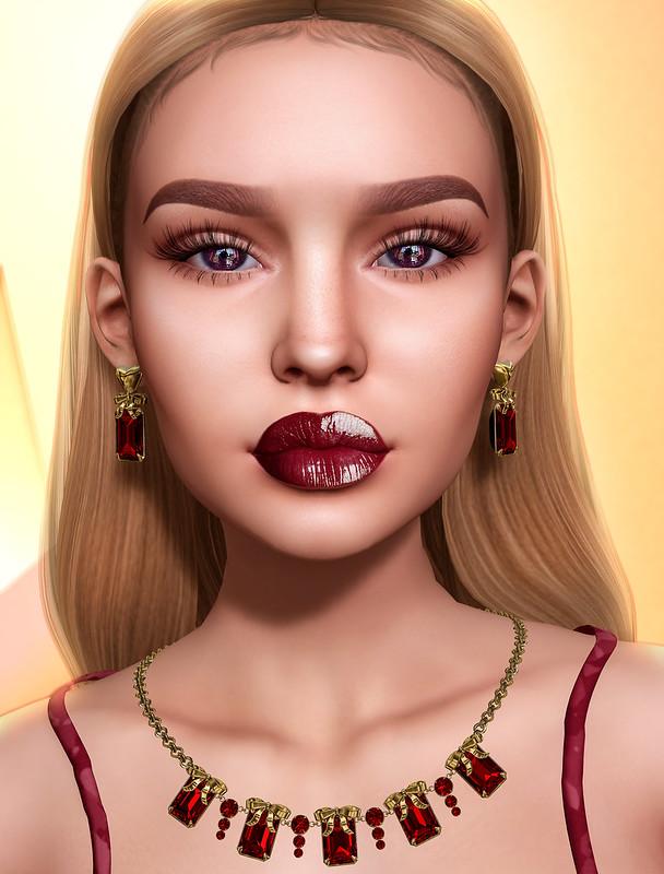 Those lips!