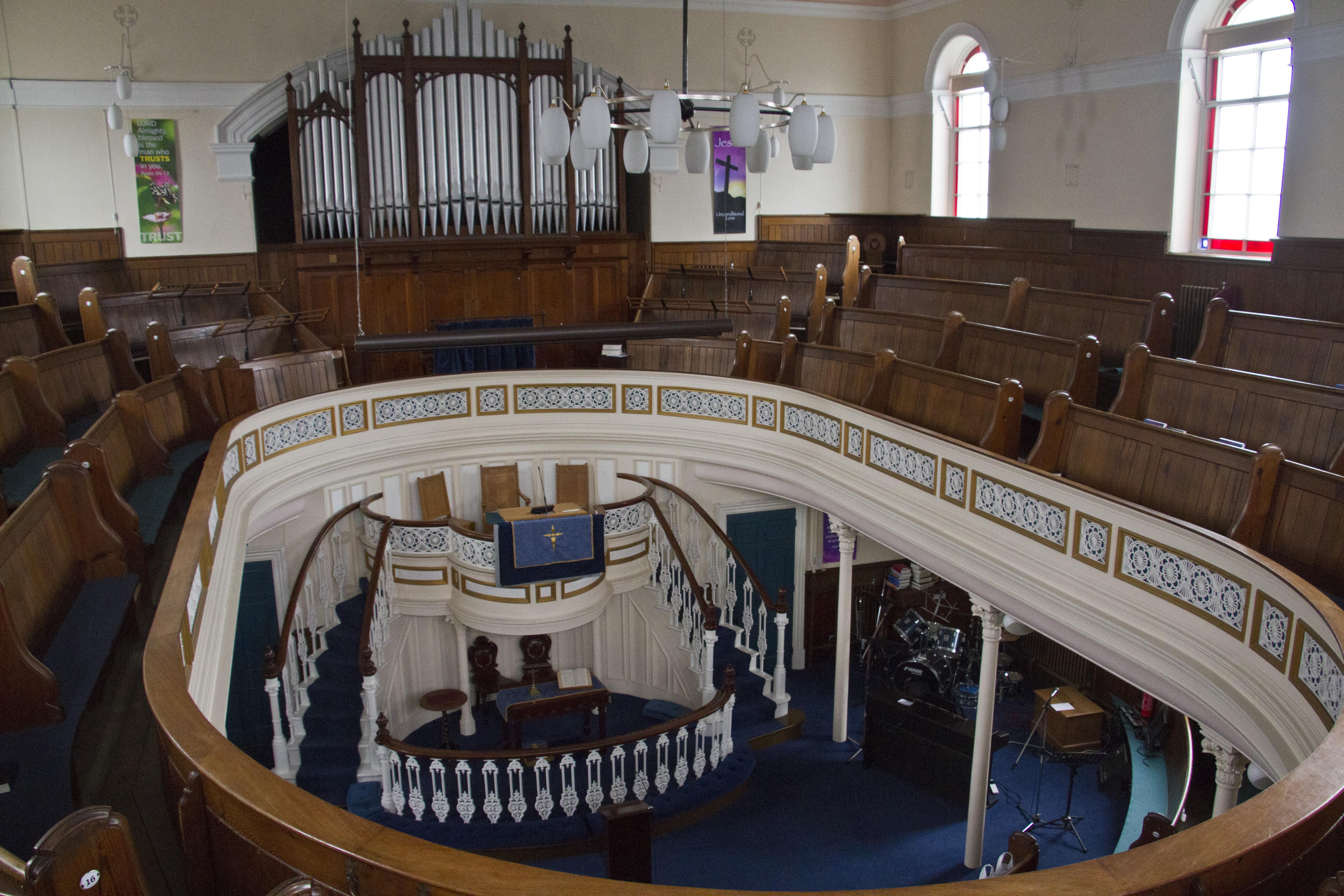 Pickering Methodist Chapel, Pickering, Yorkshire MUST CREDIT (C) Edward Nicholl