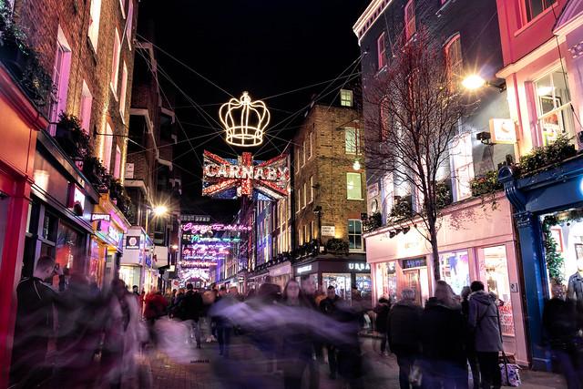 Carnaby Street, London, England