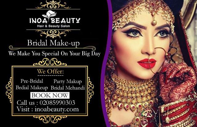 Bridal And Makeup At Inoa Beauty Salon Bridal And Makeup Flickr