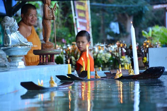 Wat Phrathat Doi Kongmu in Mae Hong Son (Northern Thailand 2018)