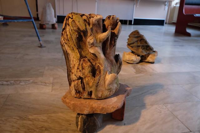 Maria Segersäll – detalj ur Installation – Skapelseberättelser