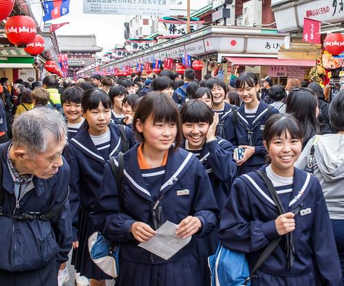 Happy Faces, Asakusa, Tokyo   by Ray in Manila
