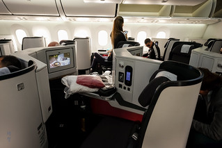 Overview of the Business Class cabin | by A. Wee