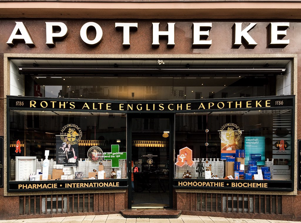 ROTH'S ALTE ENGLISCHE APOTHEKE | Hamburg, Oktober 2018 ...