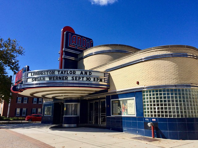 Landis Theater Vineland NJ New Jersey 2017 Retro Roadmap