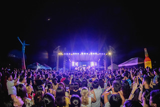 Crowd watching the Ben & Ben band performing at Day Dream Festival, Bacolod City | by wuestenigel