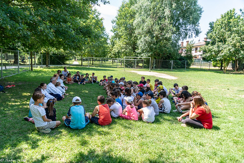 Con i ragazzi del campo estivo di Reggiolo - Giugno 2018