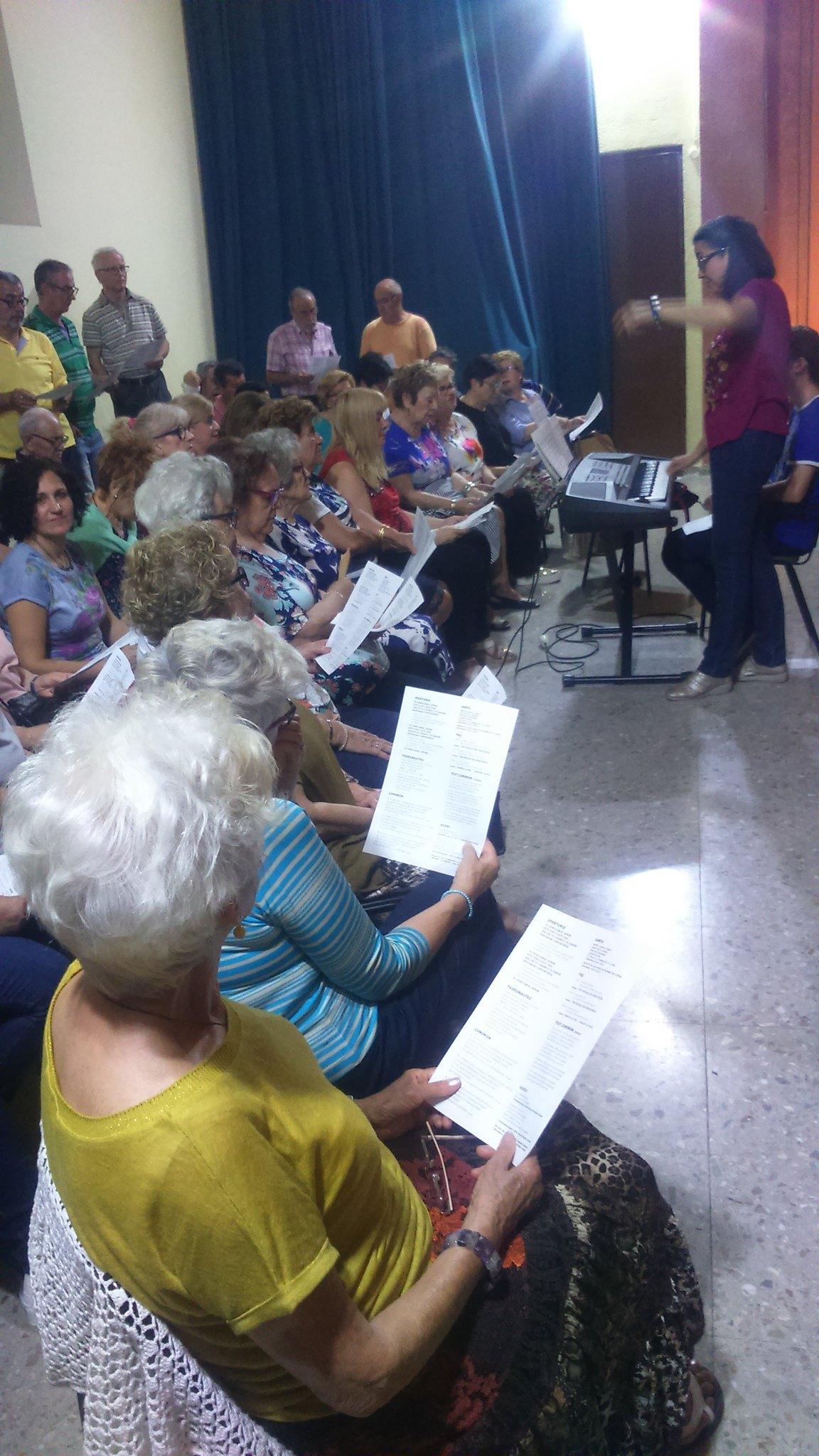 (2018-06-14) Encuentro - Ensayos coro - José Vicente Romero Ripoll (6)